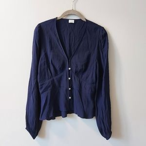 Wilfred New Prairie Blouse Navy